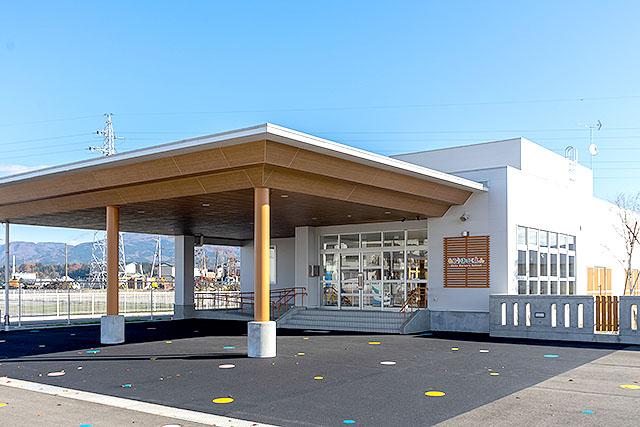 和光保育園の外観